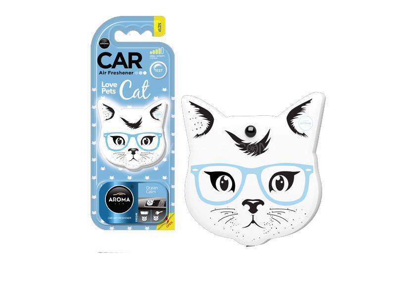 Aroma Car Pet Love Cat Ocean Calm Image-1