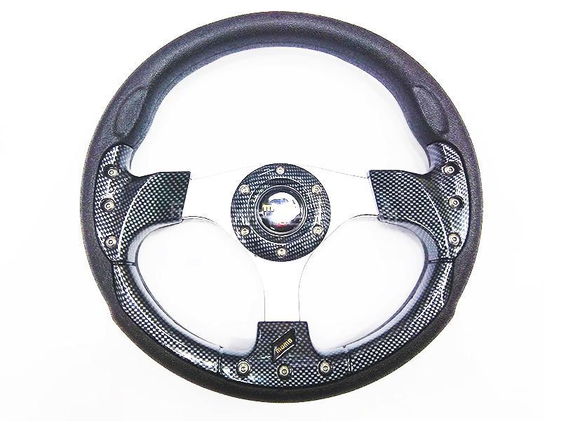 Momo Steering Wheel For Suzuki - Carbon Fiber Image-1