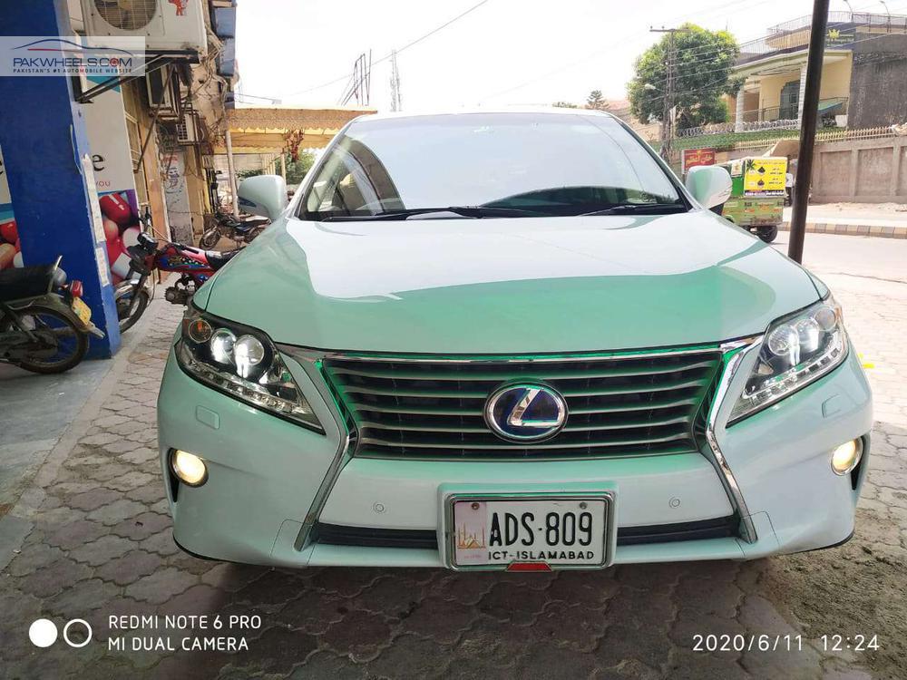 لیکسز RX سیریز 450H 2012 Image-1
