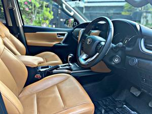 Toyota Fortuner 2.7 Petrol Model Year 2017 Registration 2017 Low Mileage TRD body kits Side chrome Panels Bumper sill Air press Android TV with speed monitor Amplifier with component speakers And much more