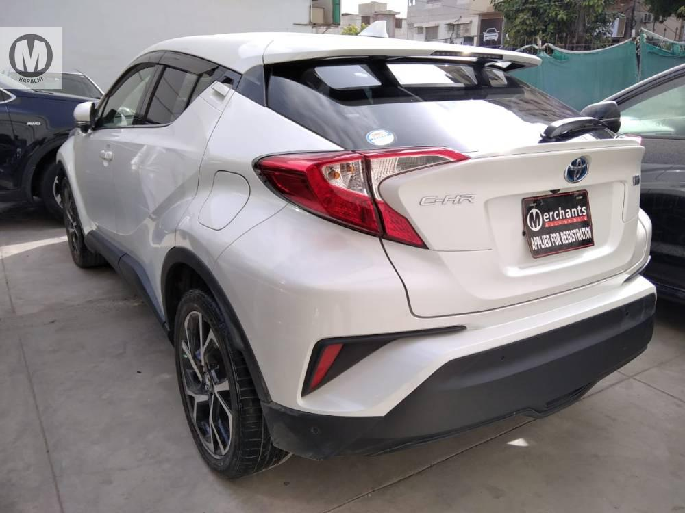TOYOTA C-HR G 2017 MODEL PEARL WHITE COLOUR 44,000 KM GRADE 4.5  SELLER'S COMMENTS ::: MAY ALLAH CURSE LIARS :::  Merchants Automobile offers highly reliable, transparent and competitive vehicle sale-purchase options, authenticated by reputable third party evaluations, and upholding highest technical & professional standards. Merchants Automobile is a name that signifies customer trust and we believe to have long term relationship rather then one time salesmanship  We ensure reliable vehicle assessments of all our vehicles through original auction report verification for unregistered cars and Pakwheels inspection certification for registered cars  We facilitate all our customers as per 3S & 4S modern dealership concept and We also offer attractive exchange deals with your old car to our new car Mention PakWheels.com when calling Seller to get a good deal Mention PakWheels.com when calling Seller to get a good deal