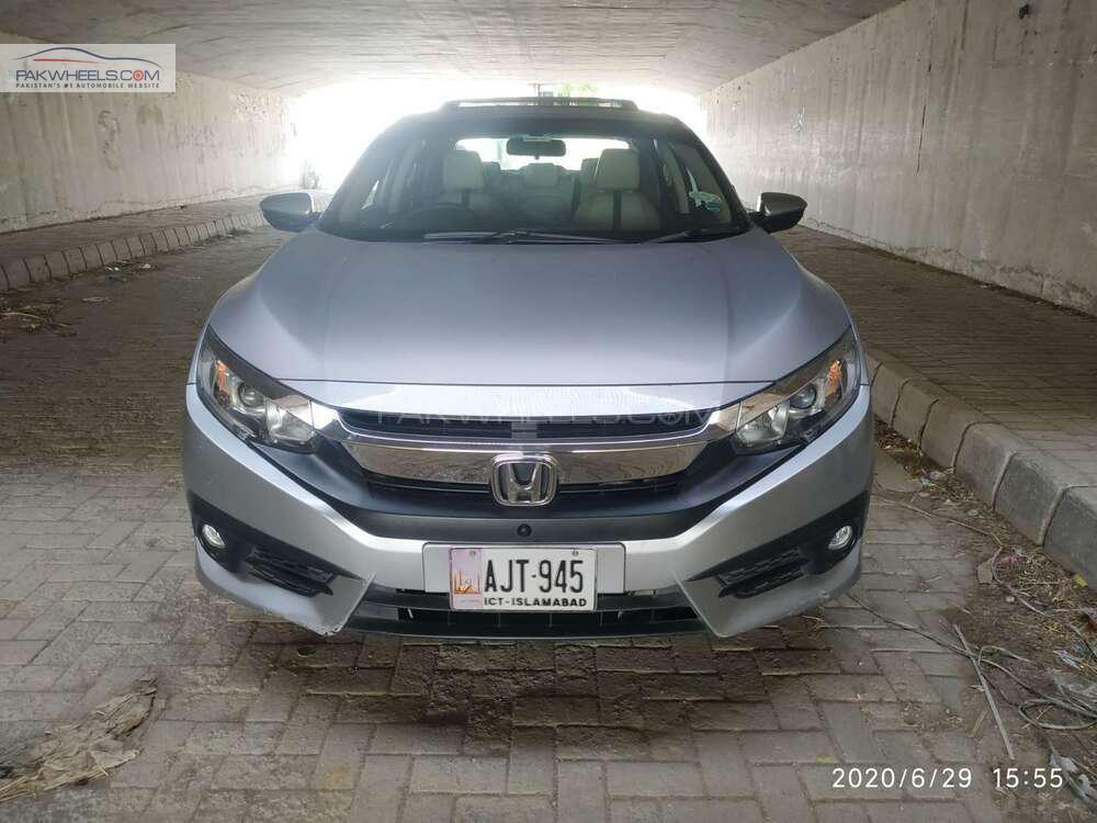 Honda Civic VTi Oriel Prosmatec 1.8 i-VTEC 2018 Image-1