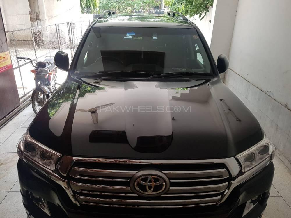 Toyota Land Cruiser ZX 60th Black Leather Selection 2012 Image-1
