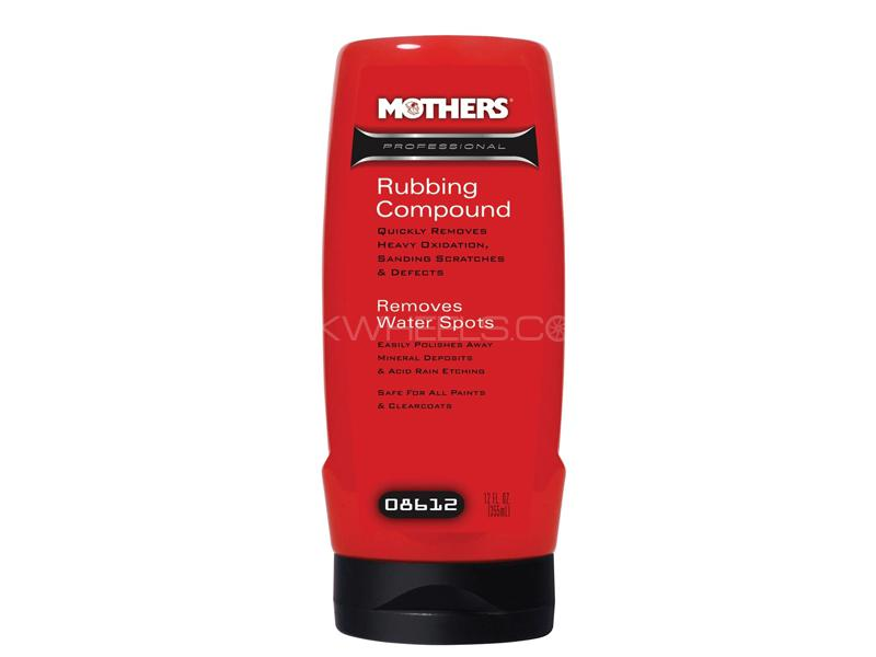 Mothers Professional Rubbing Compound 12 oz in Lahore