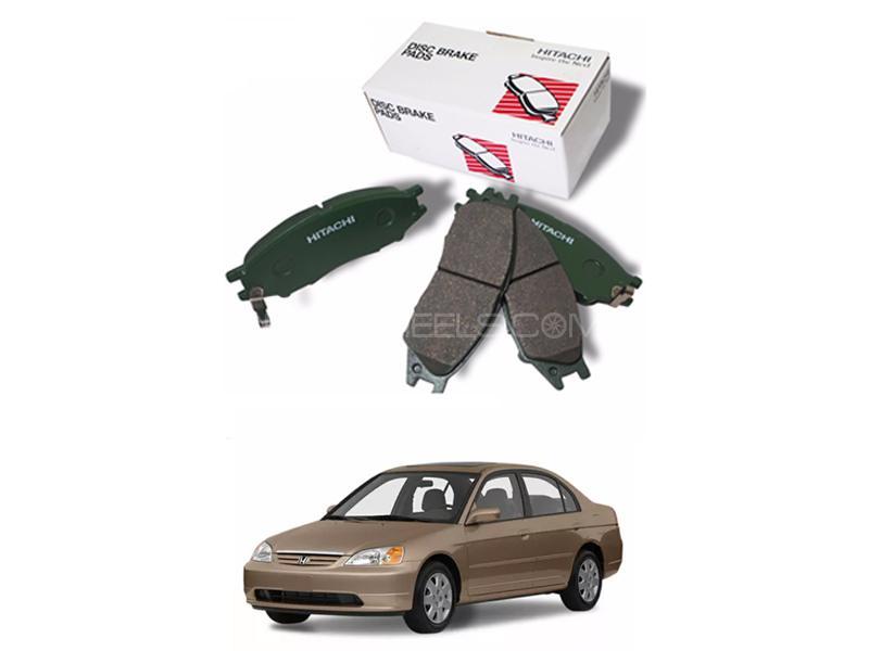 Hitachi Front Brake Pad For Honda Civic 2001-2004 - HS419 Image-1