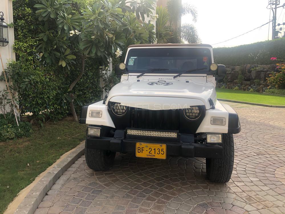 Jeep Wrangler Sahara 1998 For Sale In Karachi Pakwheels
