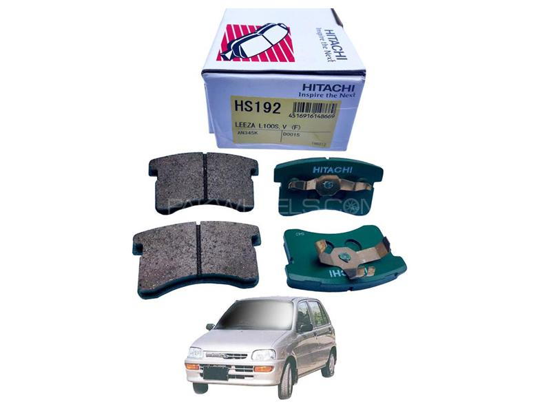 Hitachi Front Brake Pad For Daihatsu Cuore 2000-2012 - HS192 Image-1