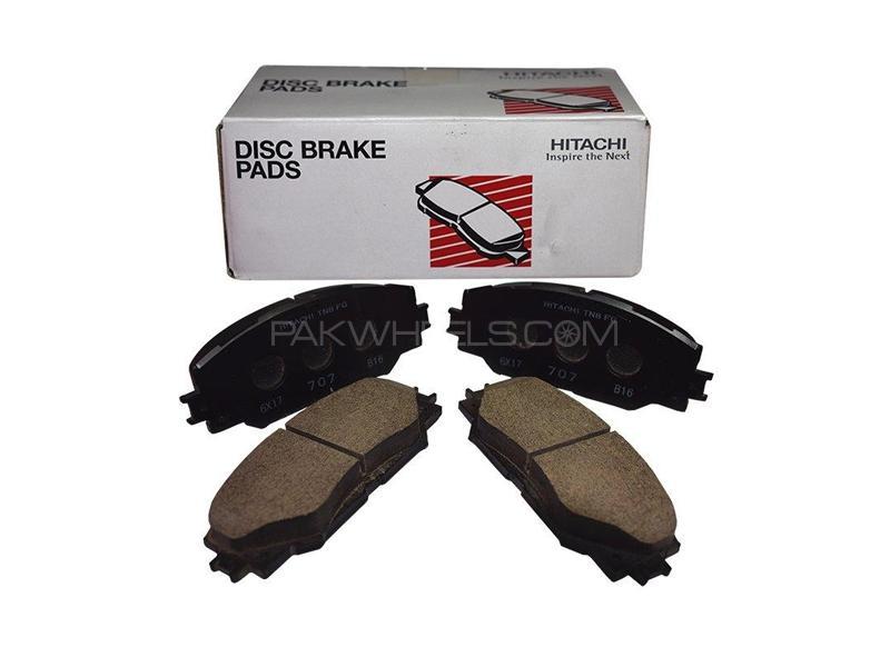 Hitachi Front Brake Pad For Mitsubishi Delica - HF197M Image-1