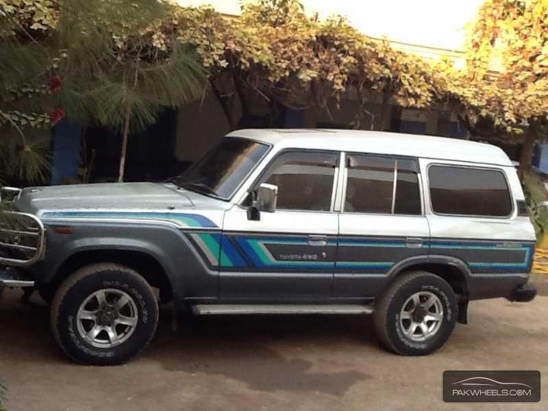 Toyota Land Cruiser Ax 1987 For Sale In Peshawar Pakwheels