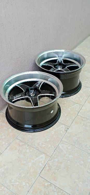 Brand New Weld Style Warrior 18 inch alloy wheels rims stagg Image-1