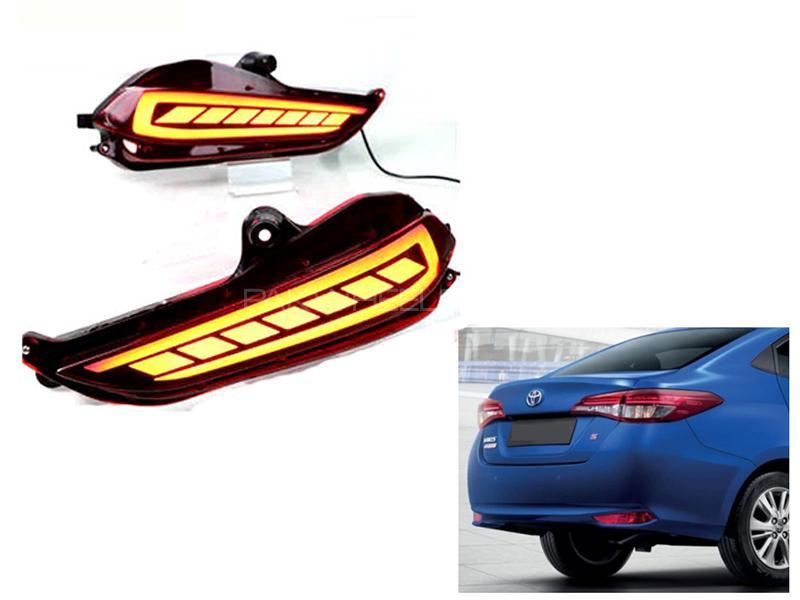 Toyota Yaris 2020 Rear Bumper Reflector DRL Light V1 in Karachi
