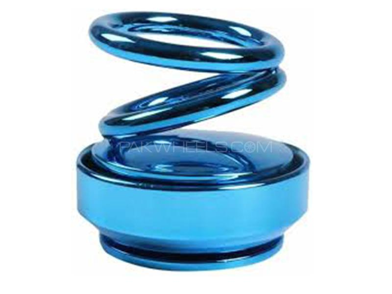 Spiral Car Perfume - Blue Image-1