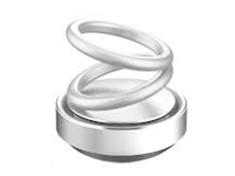 Spiral Car Perfume - Silver Image-1