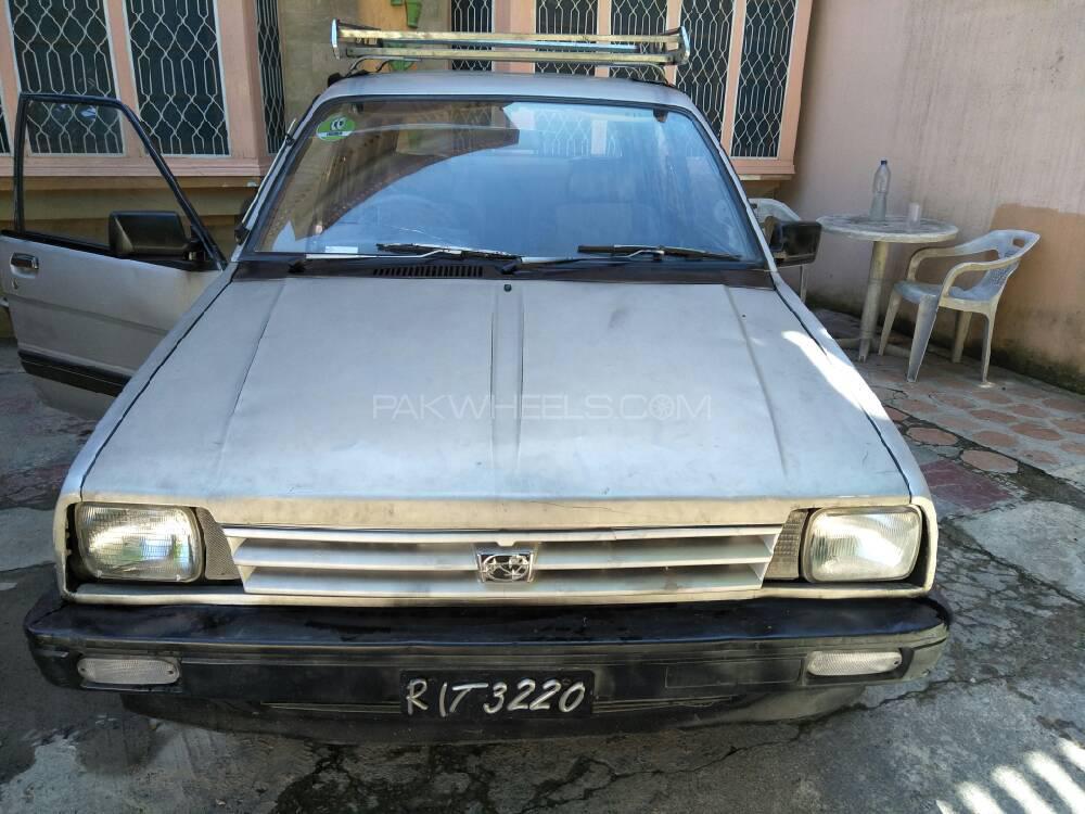 Subaru Justy 1987 Image-1