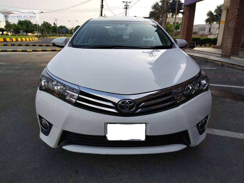 Toyota Corolla Altis Grande CVT-i 1.8 2016 Image-1