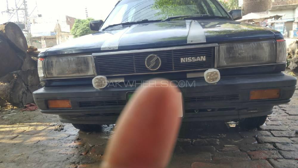 Nissan Sunny IDLX 1986 Image-1