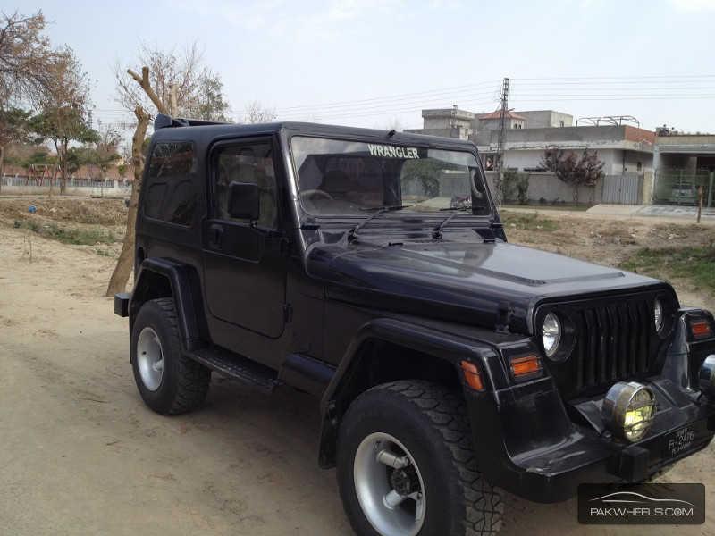 jeep wrangler 1989 for sale in lahore pakwheels. Black Bedroom Furniture Sets. Home Design Ideas