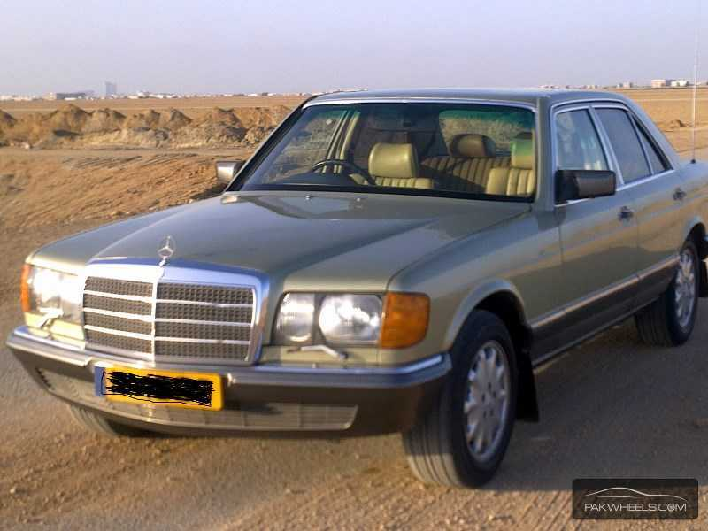 Used mercedes benz s class 1982 car for sale in karachi for Mercedes benz s550 rims for sale