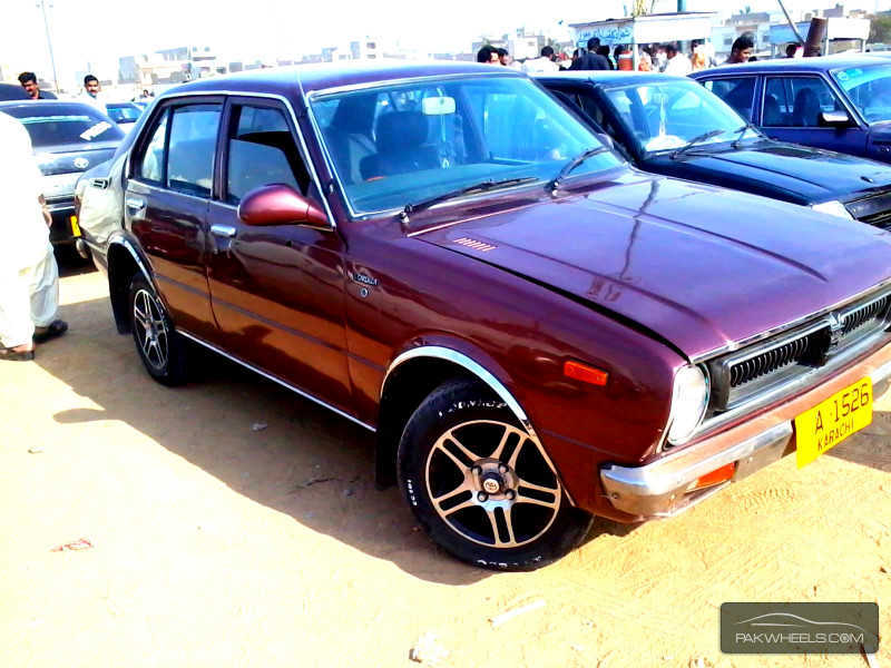 toyota corolla 1975 for sale in karachi pakwheels. Black Bedroom Furniture Sets. Home Design Ideas