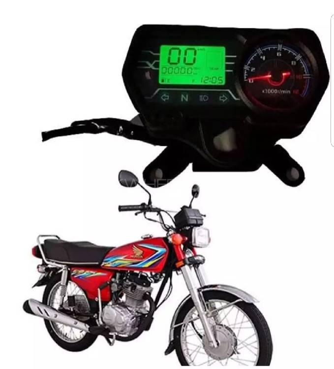 Digital Speed o Meter With Rpm For CG 125 Image-1