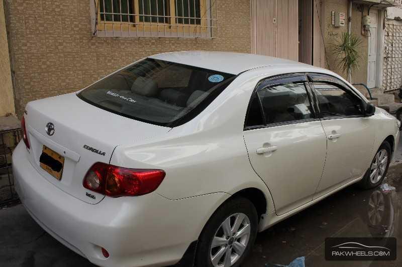 Toyota Corolla 2 0d Saloon 2009 For Sale In Karachi