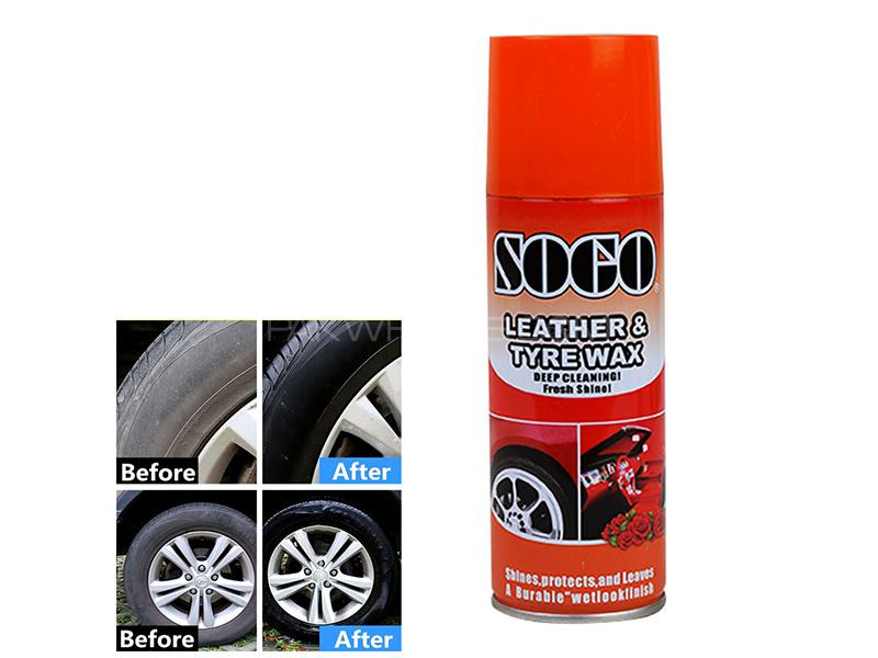 Sogo Leather And Tyre Wax 250ml - Rose Image-1