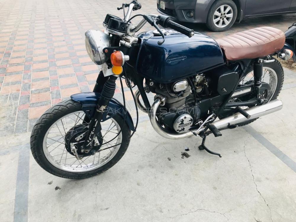 Honda CB 350 - 1971  Image-1