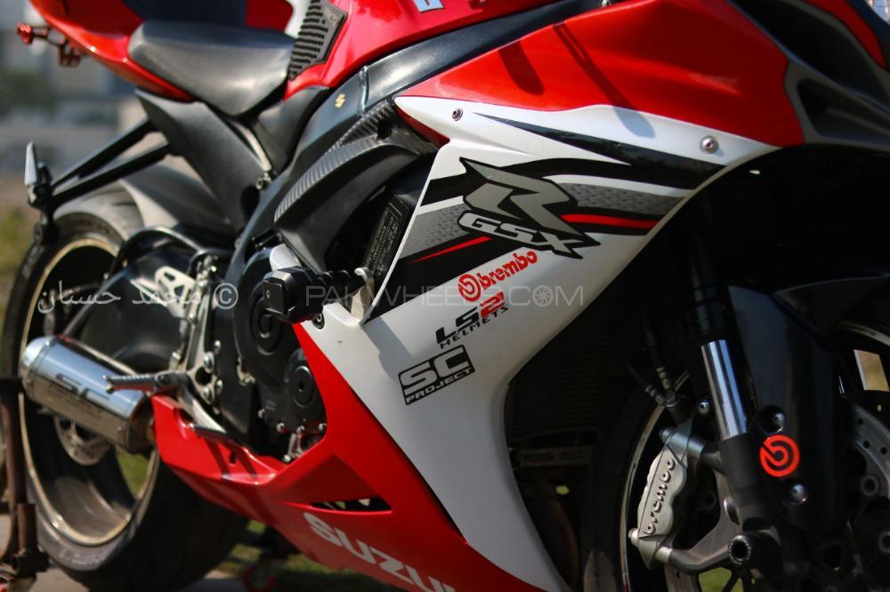 Suzuki GSX-R600 - 2012  Image-1