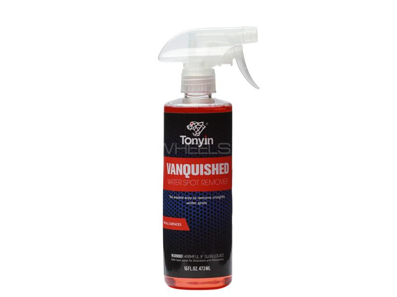 Tonyin Car Care Vanquished Water Spot Remover 580ml Image-1