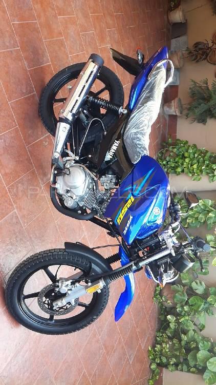 Yamaha YBR 125G - 2018 Blue Bird Image-1