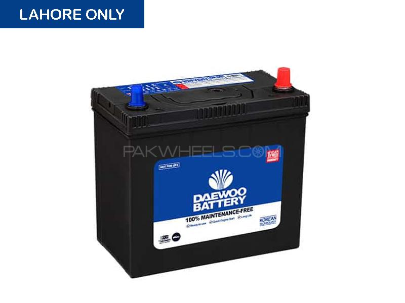 DR-60 Daewoo Maintenance Free Battery 45 Amp in Lahore