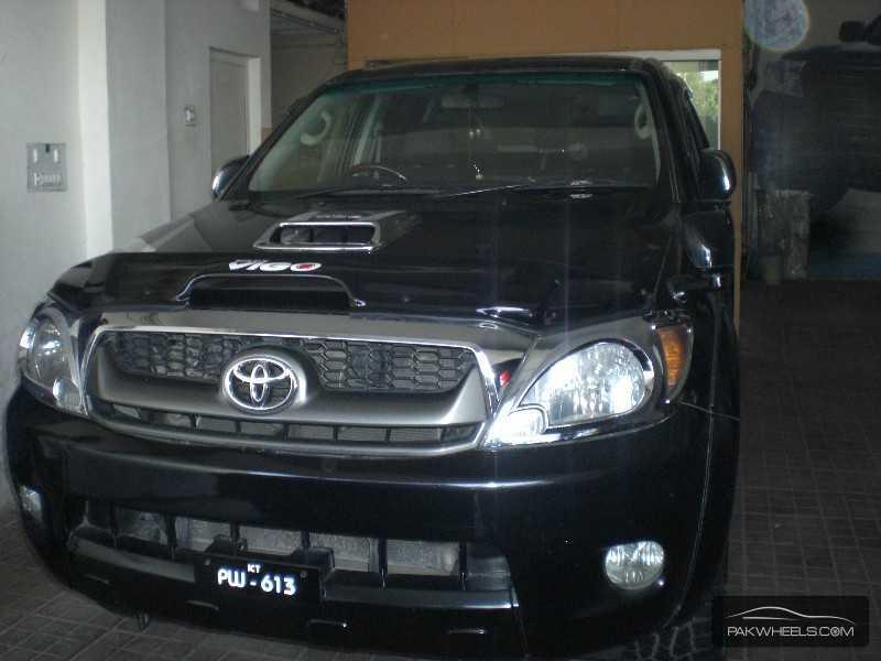 Toyota Hilux Vigo Champ G 2007 Image-2