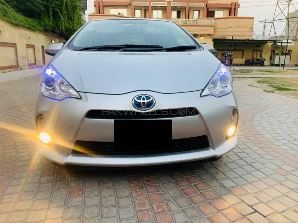Toyota Aqua G LED Soft Leather Selection  2012 Image-1