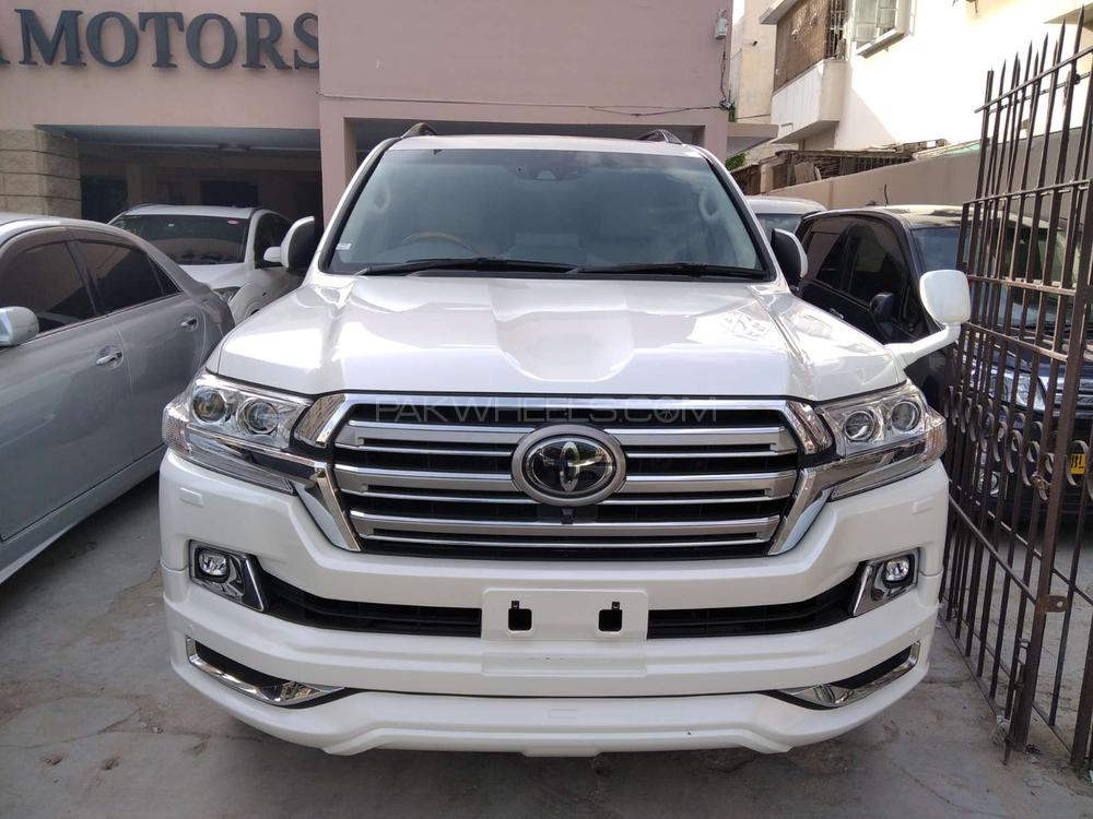 Toyota Land Cruiser AX G Selection 2017 Image-1