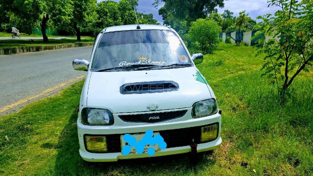 Daihatsu Cuore CX Ecomatic 2002 Image-1