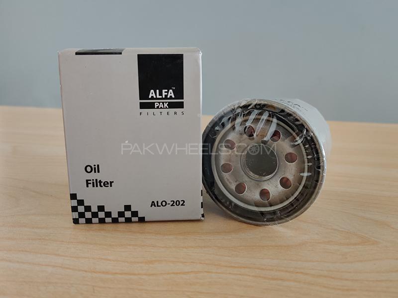 Toyota Prado 1996-2002 Alfa Oil Filter Image-1