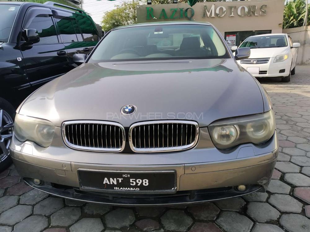 BMW / بی ایم ڈبلیو 7 سیریز 730i 2005 Image-1