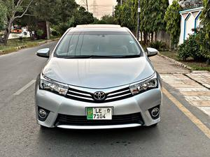 Toyota Corolla Grande Model Year 2016 Registration 2017 Silver color First owner