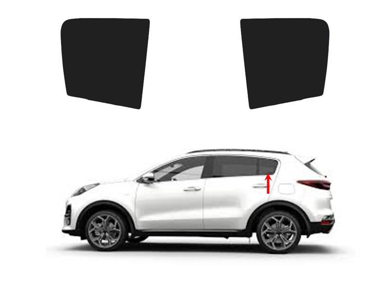 Side Quarter Window Shade For Kia Sportage 2019-2020 Image-1