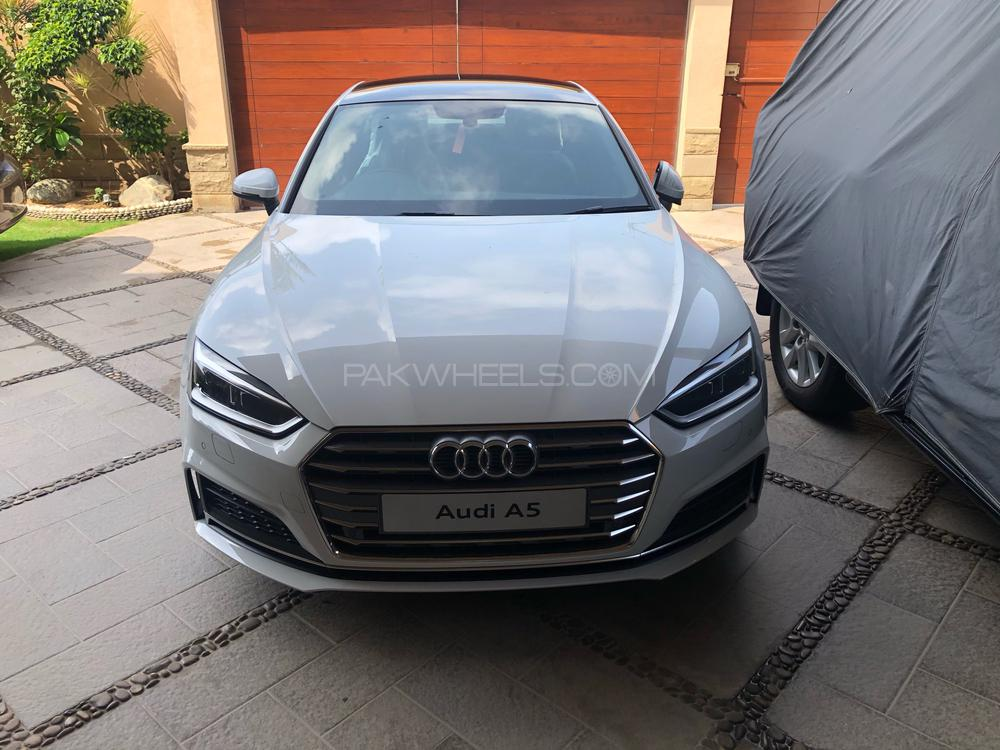 Audi A5 S-Line Competition 2020 Image-1