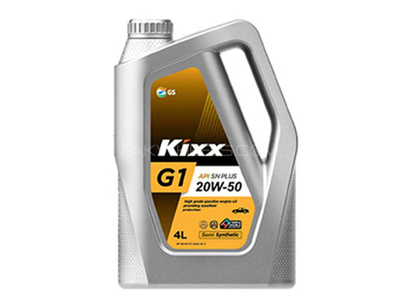 Kixx 20W-50 Engine Oil - 4L Image-1