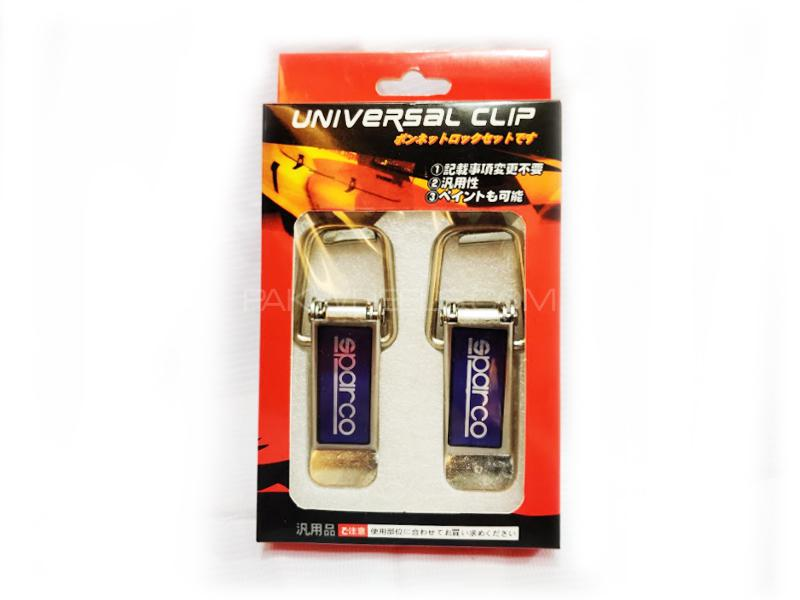 Bumper Clips Sparco Large Image-1