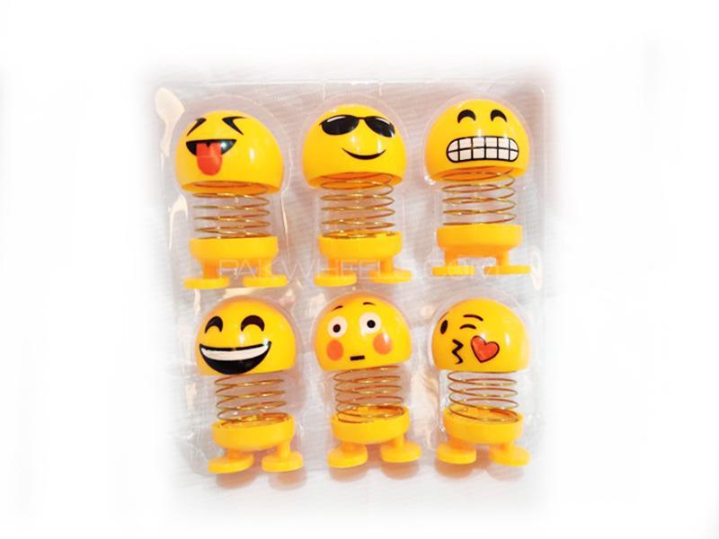 Car Smiley Emoji Pack Of 6 Image-1