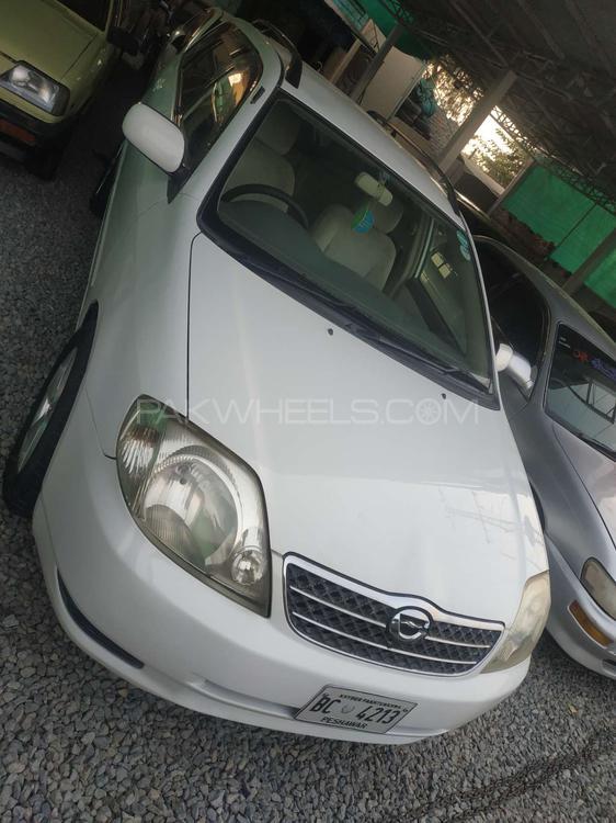 Toyota Corolla Fielder X 2001 Image-1