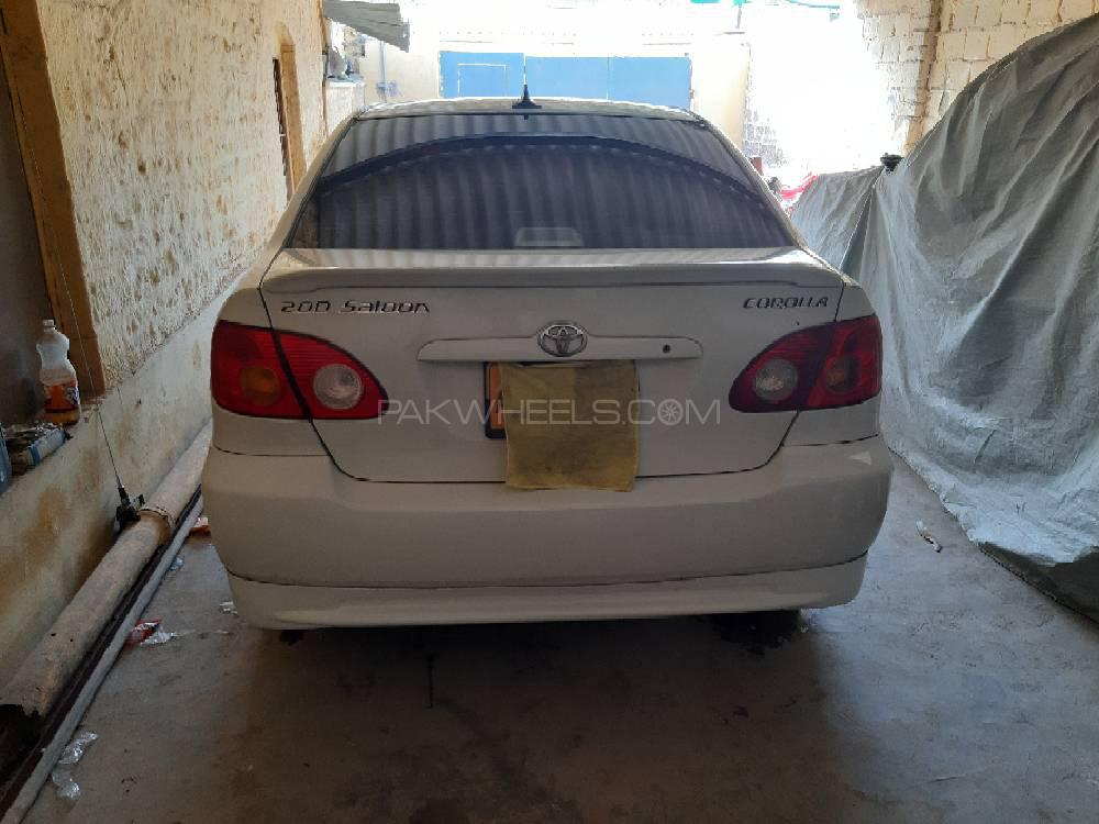 Toyota Corolla 2.0D Special Edition 2004 Image-1