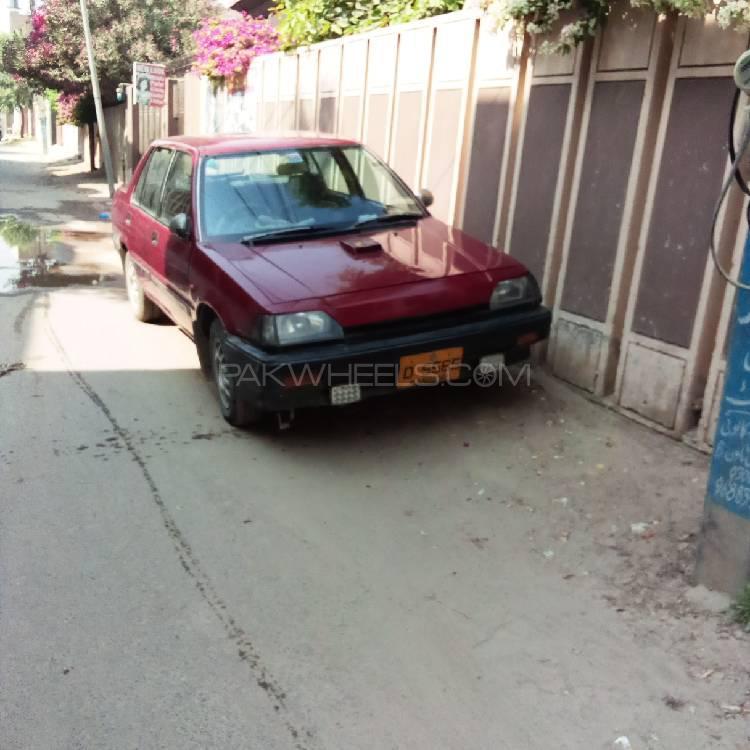 Honda Civic EX 1985 Image-1