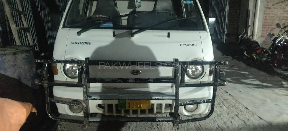 Hyundai Shehzore Pickup H-100 (With Deck and Side Wall) 2008 Image-1