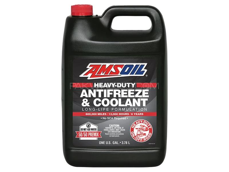 Amsoil Synthetic Pre Mixed Heavy Duty Coolant 3.78L Image-1