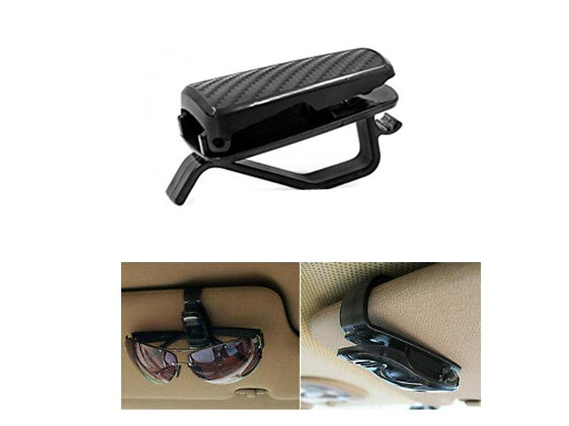 Car Sun Shade Glasses Holder Carbon in Lahore