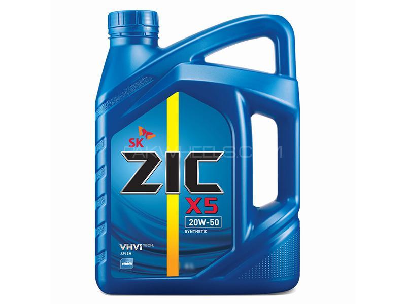 Zic X5 Engine Oil 20W-50 - 3 Litre Image-1